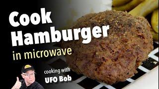 How Cook Hamburger Microwave