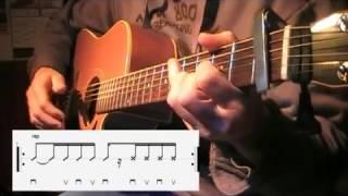 Un Homme debout (Claudio Capéo)  à la guitare