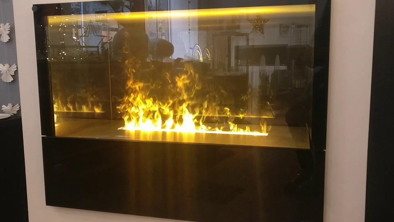 cheminee electrique 3d vapeur d'eau