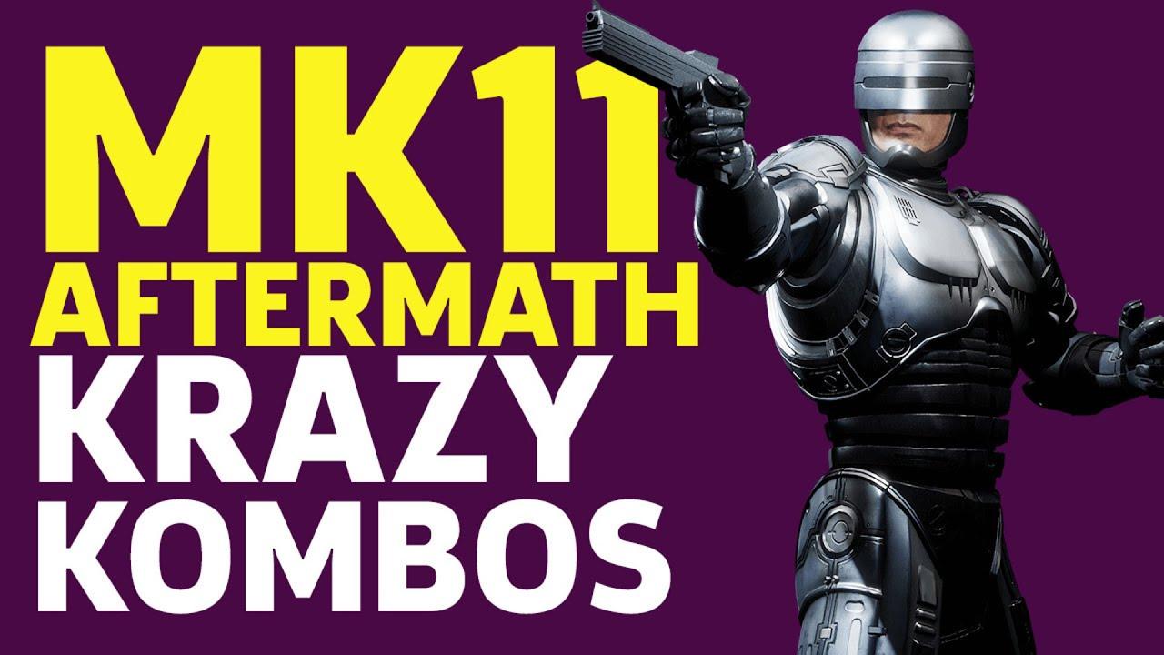 Mortal Kombat 11 Aftermath - Krazy Kombos - GameSpot