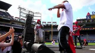 "Ludacris, Jesse Jackson, & Jermaine Dupri - ""Welcome to Atlanta"" live at Turner Field"