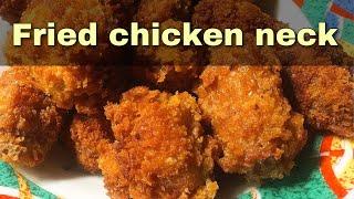 Pritong leeg ng manok | filipino food
