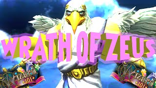 WIZARD101: TEST REALM: NEW NEW SPELL WRATH OF ZEUS