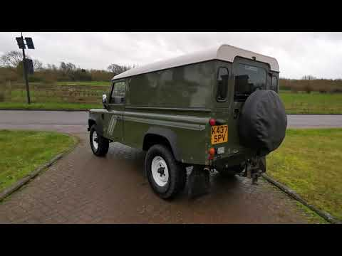 Land Rover Defender 110 Van 200TDI 1993 USA Exportable - Claridges Cars HD