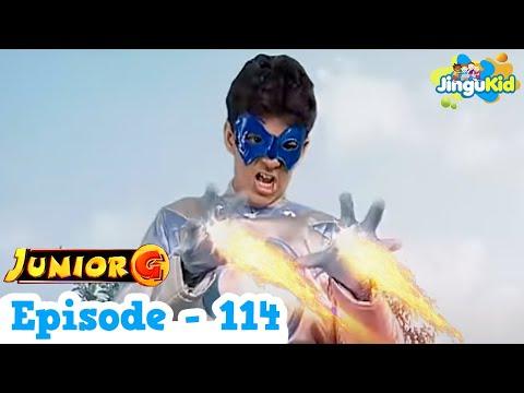Junior G - Episode 114 | HD Superhero TV Series | Superheroes & Super Powers Show for Kids
