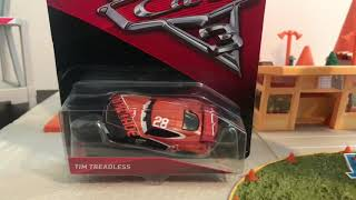 Matts playtime.  Cars 3 give away Tim Treadless.  Toys Review