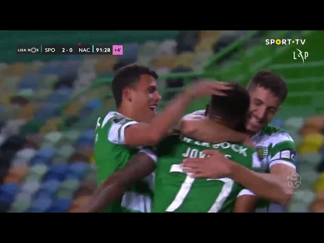 Goal | Golo Jovane: Sporting (2)-0 CD Nacional (Liga 20/21 #30)