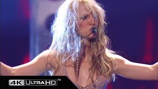 Britney Spears - I Cant Get No Satisfaction + Oops!… I Did It Again (MTV VMA 2000) 4K