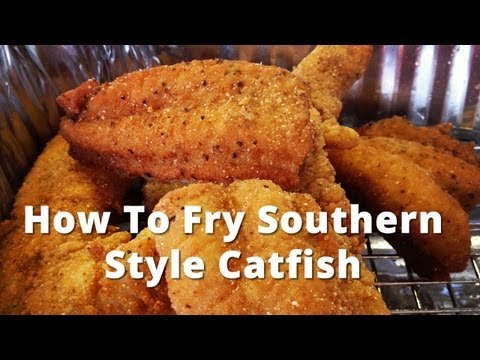 Video Fried catfish breading recipe