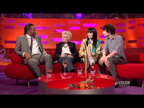 JESSIE J: Allergic Reaction at Clubs (The Graham Norton Show)