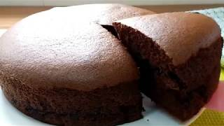 Homebake Double Chocolate Castella Cake