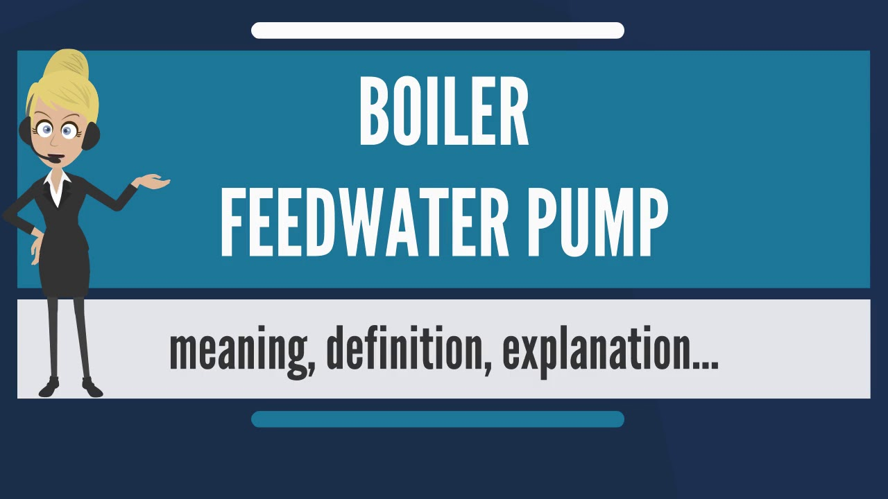 What is BOILER FEEDWATER PUMP? What does BOILER FEEDWATER PUMP mean ...