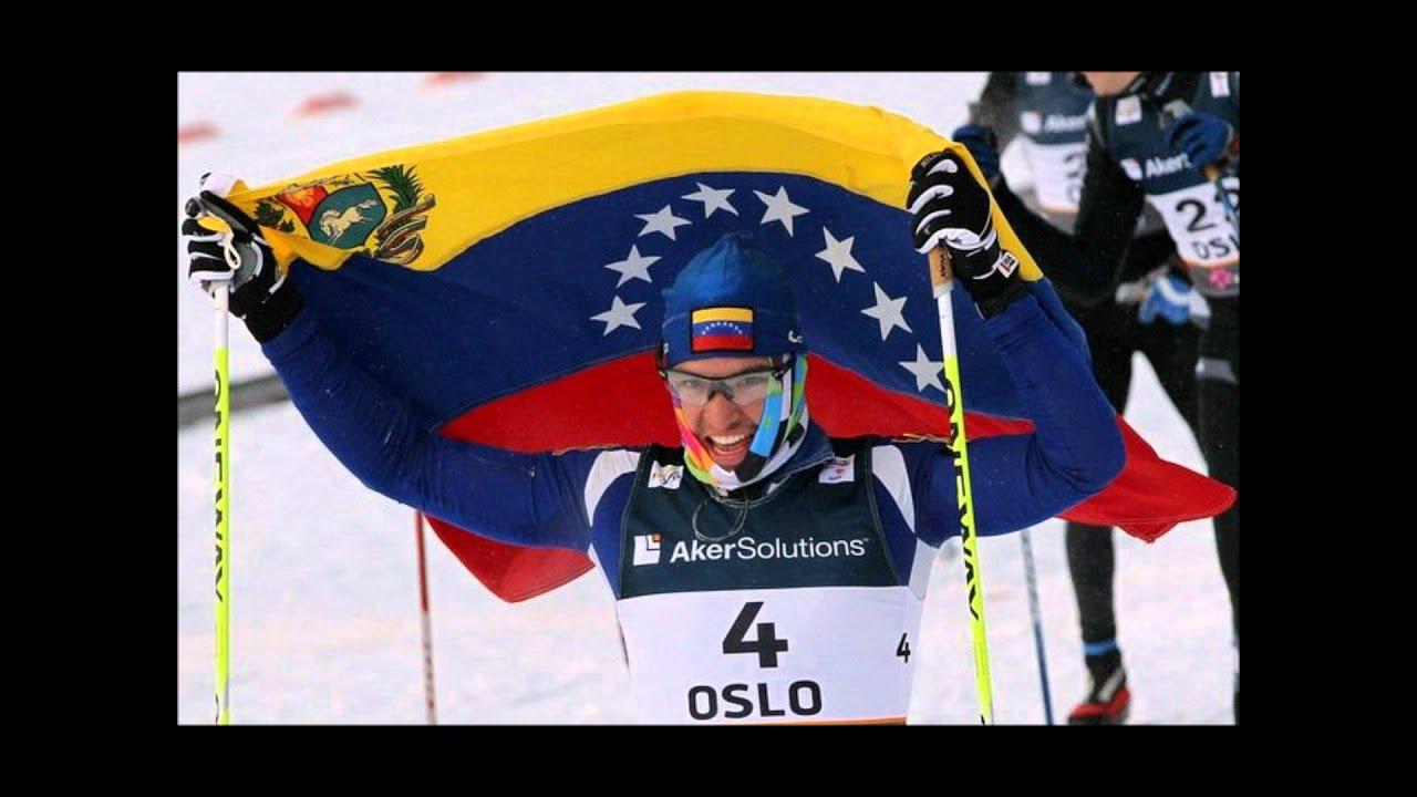 César Baena: primer esquiador venezolano en ganar el premio Merino Muster 2009