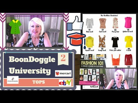 Fashion Terms 101 Reselling Women's Tops Shirts Definitions Styles Descriptions eBay Sourcing Guide