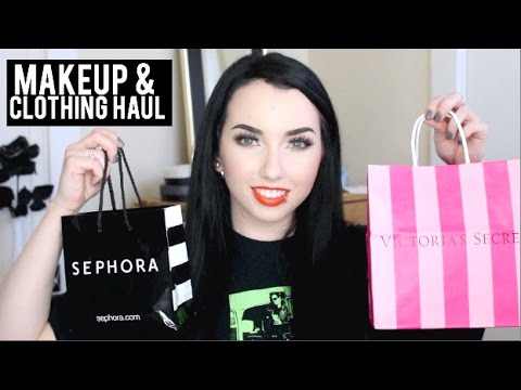 SEPHORA, VICTORIA'S SECRET & AE HAUL!