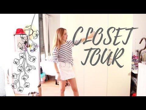 CLOSET TOUR ! Cómo organizo mi ropa y zapatos