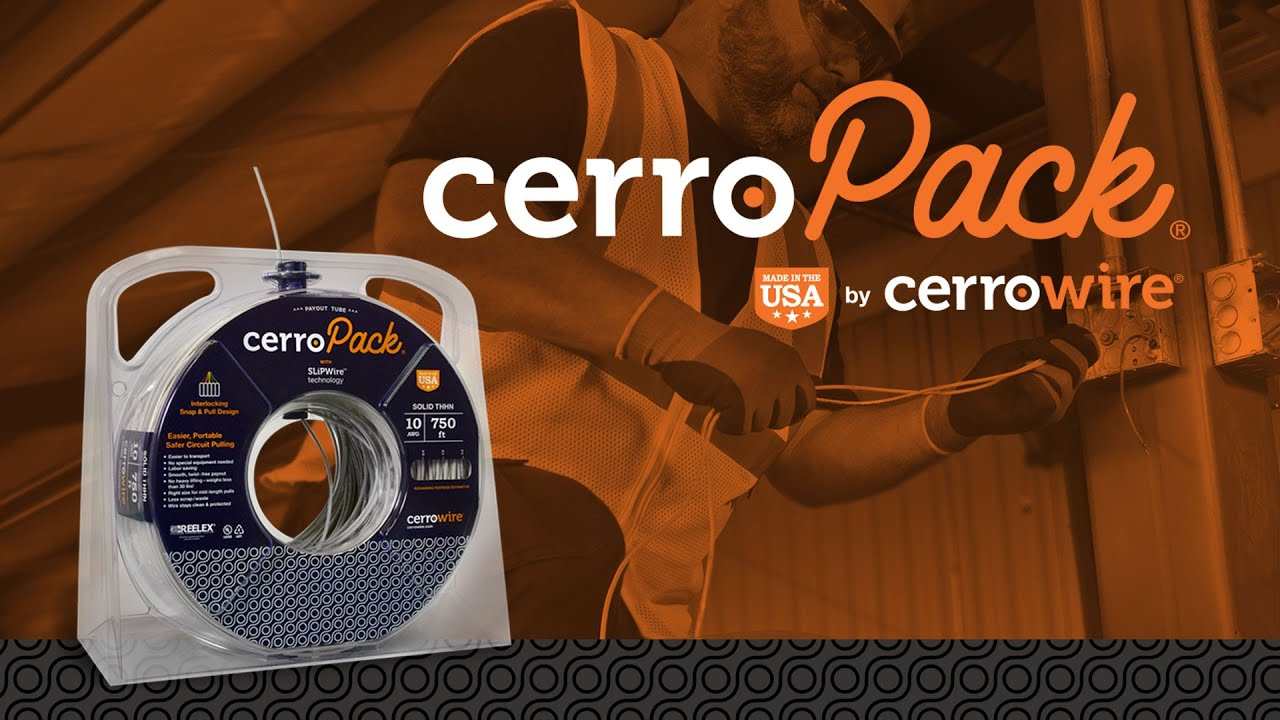 Pull Wire Straight and Fast Every Time With CerroPack From Cerrowire