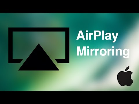 How to Airplay in iOS 10  airplay mirroring from iPhe iPad iPod