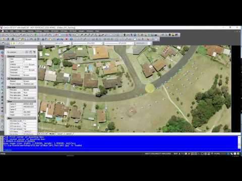 GIS WMS Images in Carlson GIS 2017