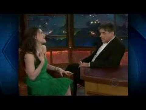 Anna Paquin on Craig Ferguson Part 1