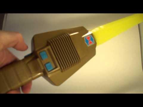 HeMan toy sword demo