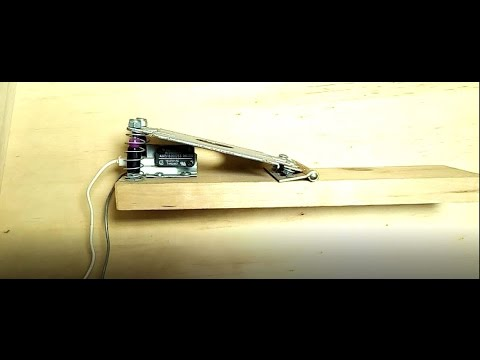 DIY spring foot switch for power tools