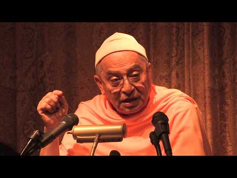 Swami Sarvadevananda Lecture in San Diego - When to Expect Spiritual Results