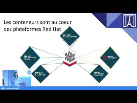 Paris Container Day 2016 : Cloud de conteneurs conteneurs dans le cloud stratégie pour l'entreprise
