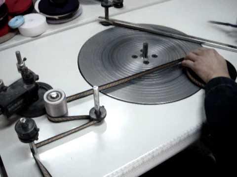 tape rolling machine youtube