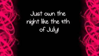 Firework-Katy Perry lyrics