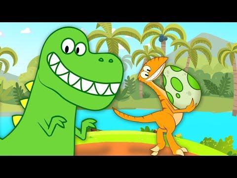 Песенка про динозавров | Любимые детские песни - сборник