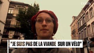 Cette cycliste belge répond aux harceleurs de rue dans une chanson