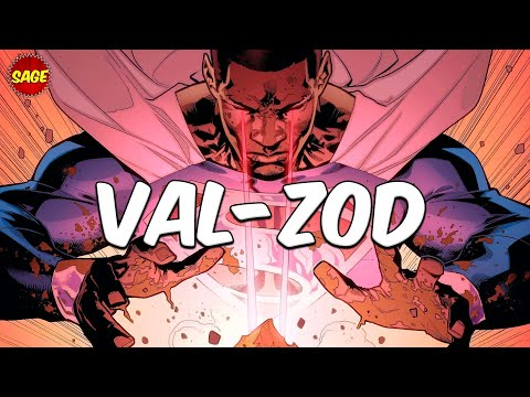 Who is DC Comics' Val-Zod? Black Superman of Earth-2