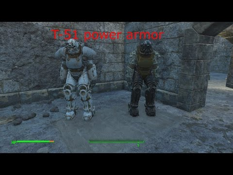Fallout 4 - Two T51 power armor in one location