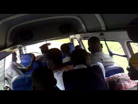 Minibus in Malawi on the way Mwanza to Blantyre :)
