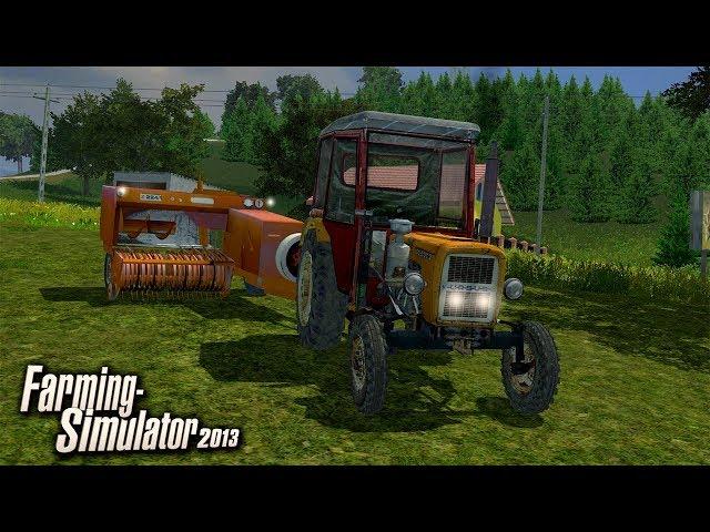 🔥  Małe Prasowanie Siana ⭐️ Farming Simulator 2013 🚜