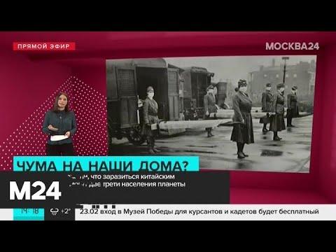 В ВОЗ сделали прогноз по распространениб коронавируса - Москва 24