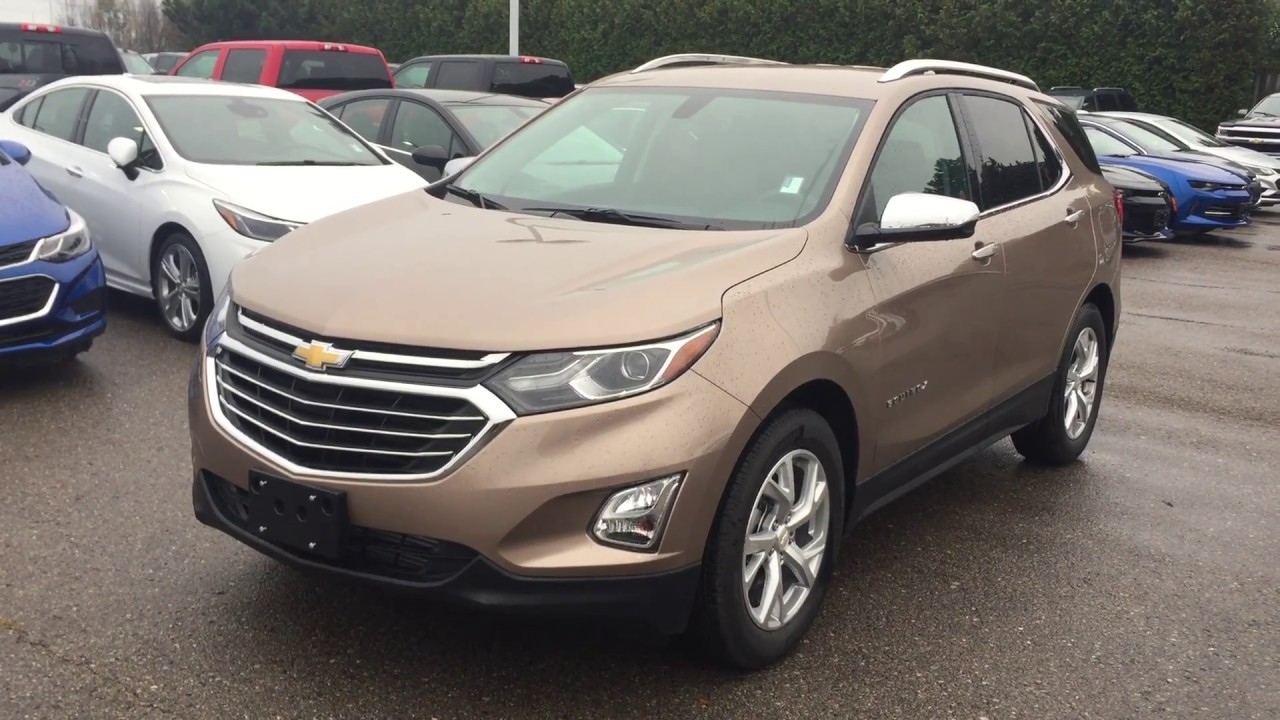 2018 Chevrolet Equinox Premier Sandy Ridge Metallic Roy ...