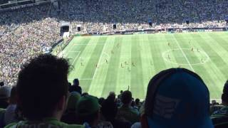Seattle Sounders vs Portland Timbers at Century Link (5/27/2017) part3