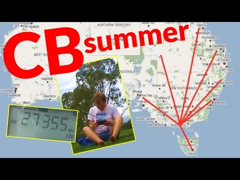 Sounds Of Summer 27 MHz CB Radio In Australia