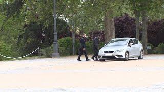 La Policía Municipal desaloja el Parque del Oeste