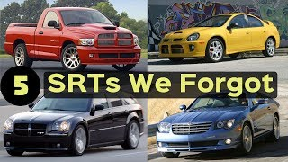 5 Dodge & Chrysler SRTs That You Totally FORGOT Existed!
