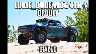 Silver Lake Sand Dunes 4th of July 2018 lukie_dude Dialed