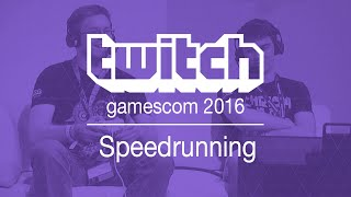 Speedrunning at Gamescom 2016 [GER]