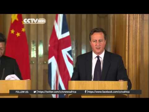 FULL VIDEO: President Xi Jinping and UK PM David Cameron press briefing