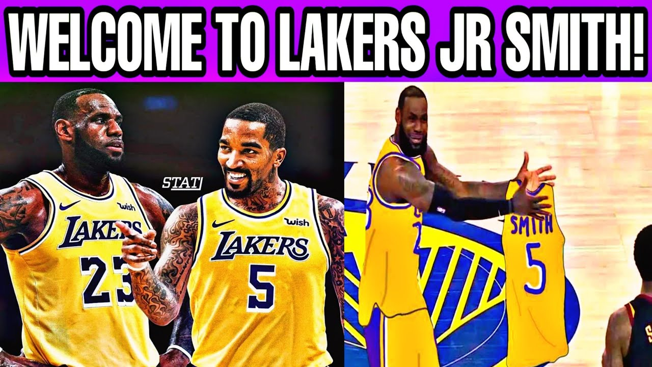 Welcome to LAKERS JR Smith Reunited with LeBron James!