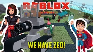 Roblox: TOWER BATTLES TIME! WE HAVE ZED!