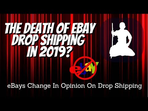 Is eBay Drop Shipping Dead? -  eBay Retail Arbitrage Changes 2019 thumbnail