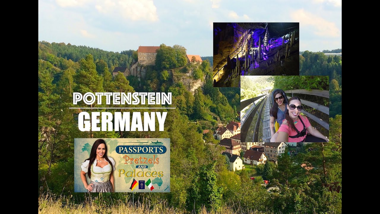 Pottenstein, Germany (Sommerrodelbahn, Cave, Castle) | Passports, Pretzels, & Palaces