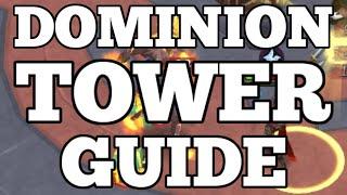 Dominion Tower Guide: All Achievements and Rewards [Runescape 2015]